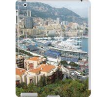an unbelievable Monaco landscape iPad Case/Skin