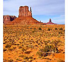 Monument Valley Scene Photographic Print