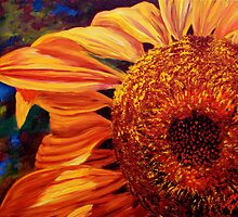 Sunlight on the Sunflower by sesillie