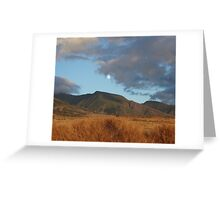 moon over lahaina Greeting Card