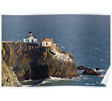 Point Bonita Lighthouse, San Francisco Bay Poster