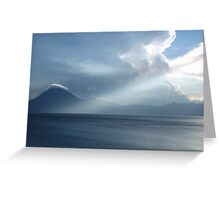 lago rays Greeting Card