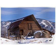 Steamboat Barn, Daytime Icon Poster