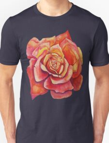 Orange Rose Bud  T-Shirt