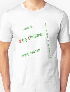 Seasons Greetings with Snow T-Shirt
