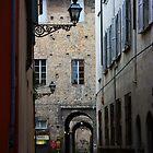 Parma. A Street View with Lanterns II, Emilia-Romagna, Italy 2009 by Igor Pozdnyakov
