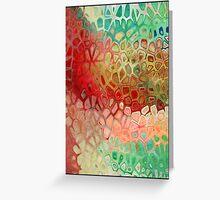 tashu - v card - textured Greeting Card