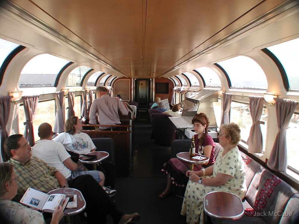 First Class Lounge - Coast Starlight - California *Featured by Jack McCabe
