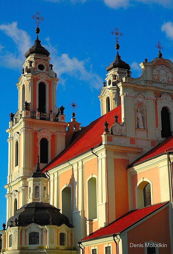 "Temples - ""City Church in Vilnius (LT)"" by Denis Molodkin"