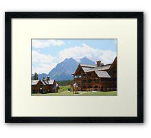 Banff, Alberta, Canada Framed Print