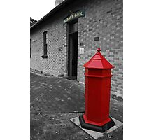 The Red Postbox - Albany, Western Australia. Photographic Print