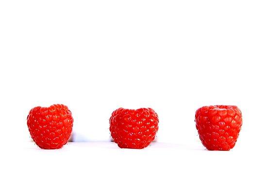 Blowing Berries by Fiona Christensen