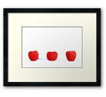 Blowing Berries Framed Print