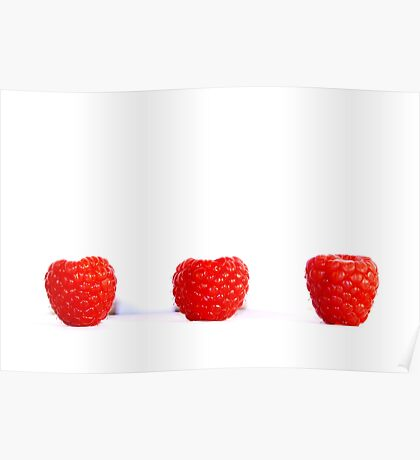 Blowing Berries Poster