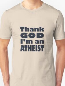 Atheist Dark Print T-Shirt