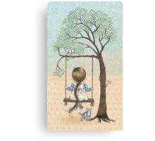la la la swing la la la Canvas Print