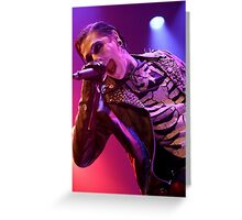 Motionless In White Greeting Card