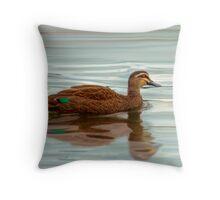 Ducks - Smooth Sailing Throw Pillow