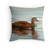 Ducks - Smooth Sailing Throw Pillow