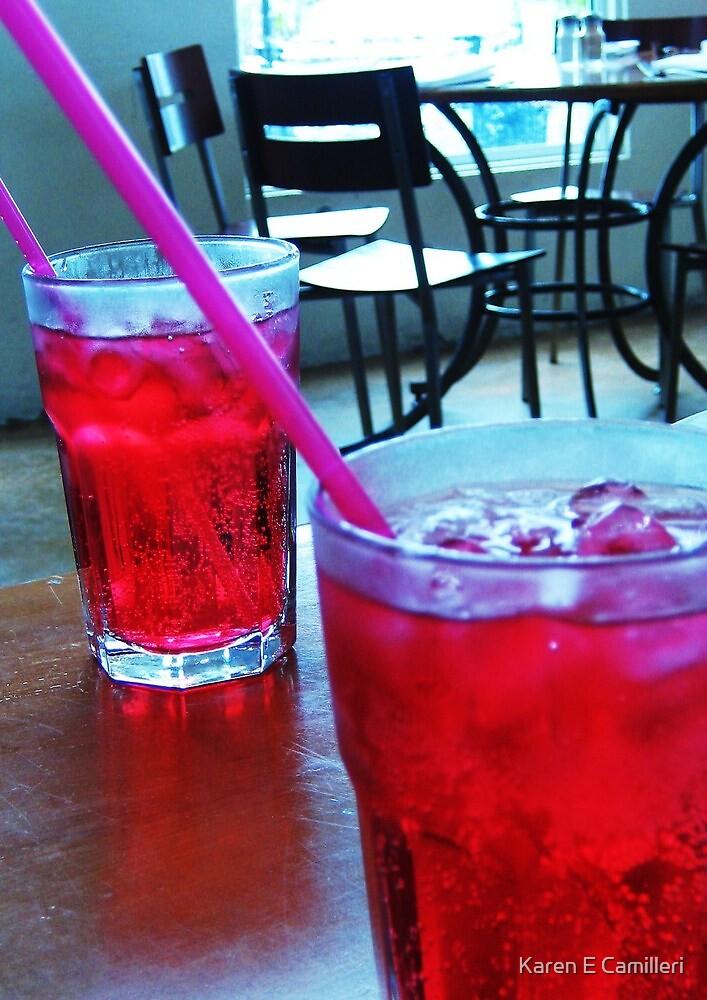 cool reds by Karen E Camilleri
