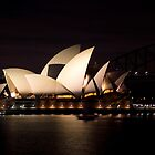 Sydney Opera House before dawn  by Martin Pot