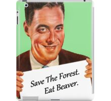 Save The Forest iPad Case/Skin
