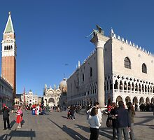 Entry to St Mark's Square by Paul Ryan