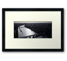 View from the top of the London Eye Framed Print
