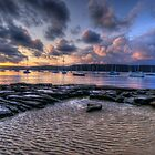 Shifting Sands - Paradise Beach, Sydney - The HDR Experience by Philip Johnson