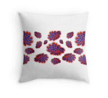 Enticing wings Throw Pillow