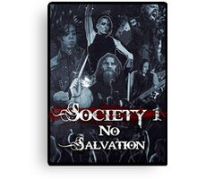 No Salvation Poster (Society 1 Inspired Comic) Canvas Print