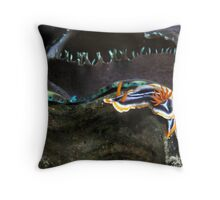 Magnificent Nudii Throw Pillow