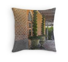 Rose and Crown - without the thorns Throw Pillow