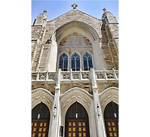 Cathedral of St John Front  Photographic Print