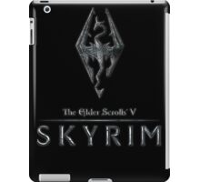 The Elder Scrolls V: Skyrim Logo iPad Case/Skin