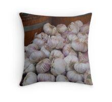 Onions in Portobello Throw Pillow