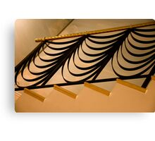 Ribbon Staircase Canvas Print