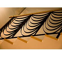 Ribbon Staircase Photographic Print