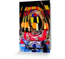 Gifted Glass. Greeting Card