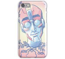 Floral Psychologist  iPhone Case/Skin