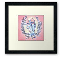 Floral Psychologist  Framed Print