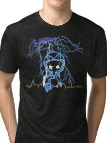 "Hildesheim Invaders ""Invader Skyline Lightning"" Tri-blend T-Shirt"