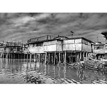 Stilt Houses - HDR Photographic Print