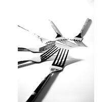 For forks sake Photographic Print