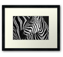 Natures graphic design Framed Print