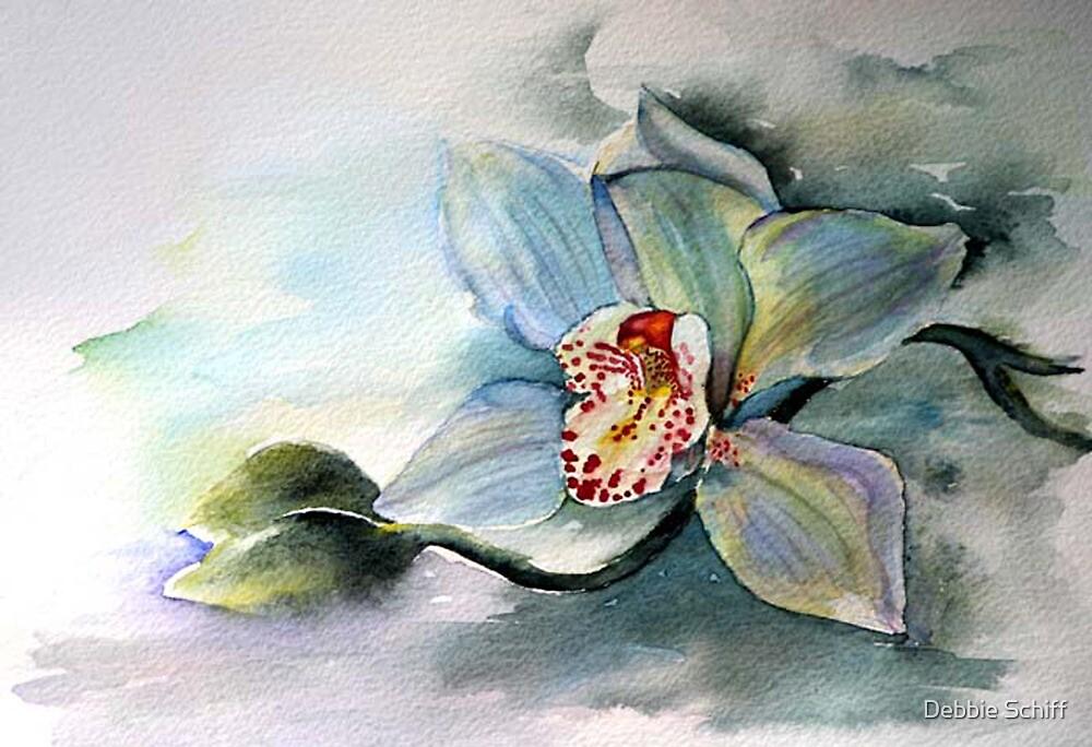 Moonlit Orchid by Debbie Schiff