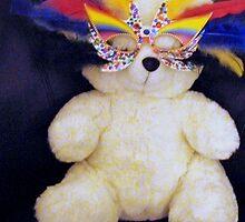 Party Teddy by Rachel Williams