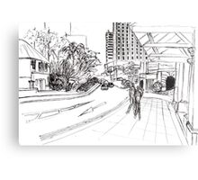 Singapore streetscape Metal Print