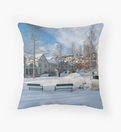 The Paris of the North Throw Pillow
