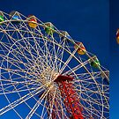 Ferris wheel by Matthew Bonnington